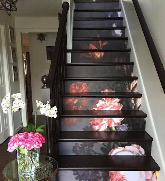 10 Eye Catching Staircase Designs For Unique Home Decor: Eye-Catching Decals Add Unexpected Art To Plain