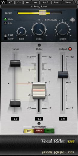 Vocal Rider Recorder Music Music Software Waves Plugins