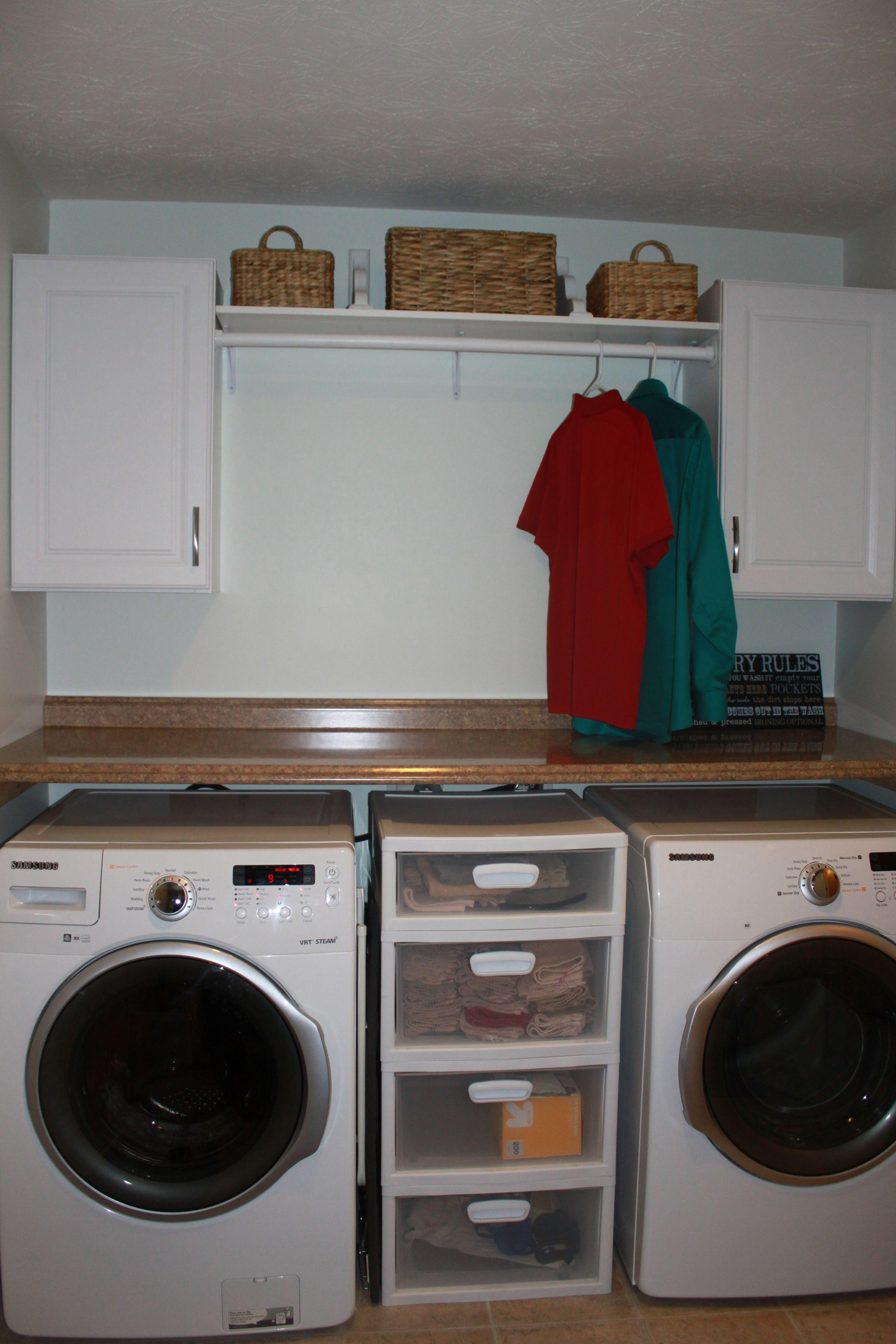 My Very Own Diy Laundry Room Makeover So Easy Lavanderia