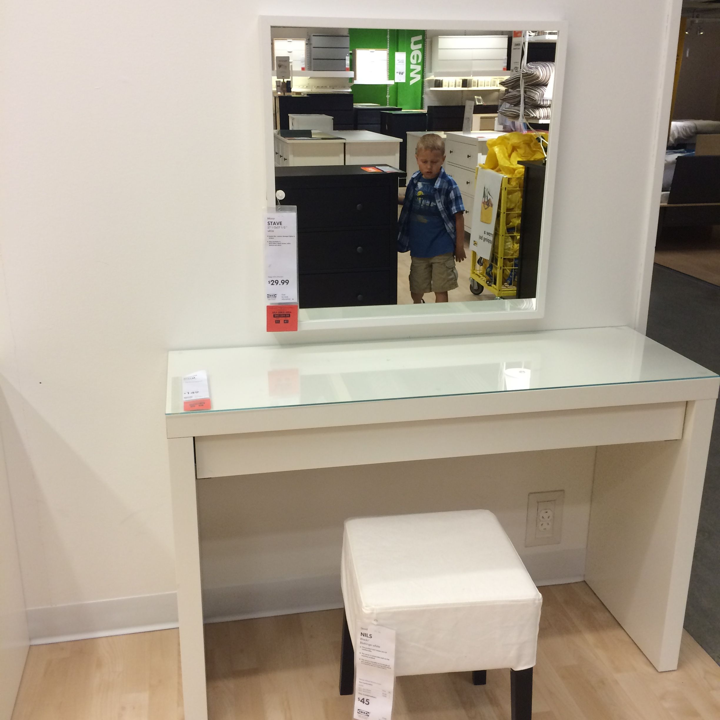 Ikea Stave Mirror 30 27 1 2 Quot X 27 1 2 Quot Ikea Malm