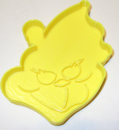 I did another grinch cookie cutter the size is 4x3 and it made out of plastic      Thx for looking my cutters!    Please note that some of my designs
