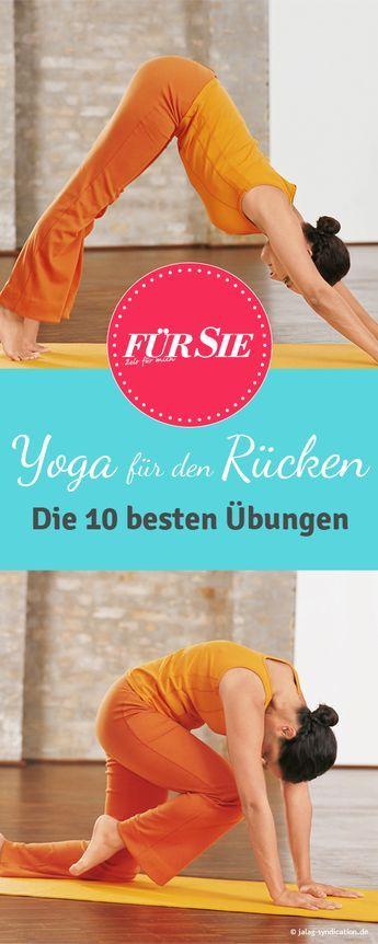 yoga bungen f r einen starken r cken sport pinterest fitness gesundheit und bungen. Black Bedroom Furniture Sets. Home Design Ideas