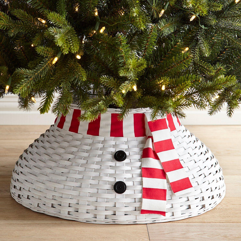 Snowman Tree Collar Christmas Tree Stand Tree Collar Snowman Christmas Tree