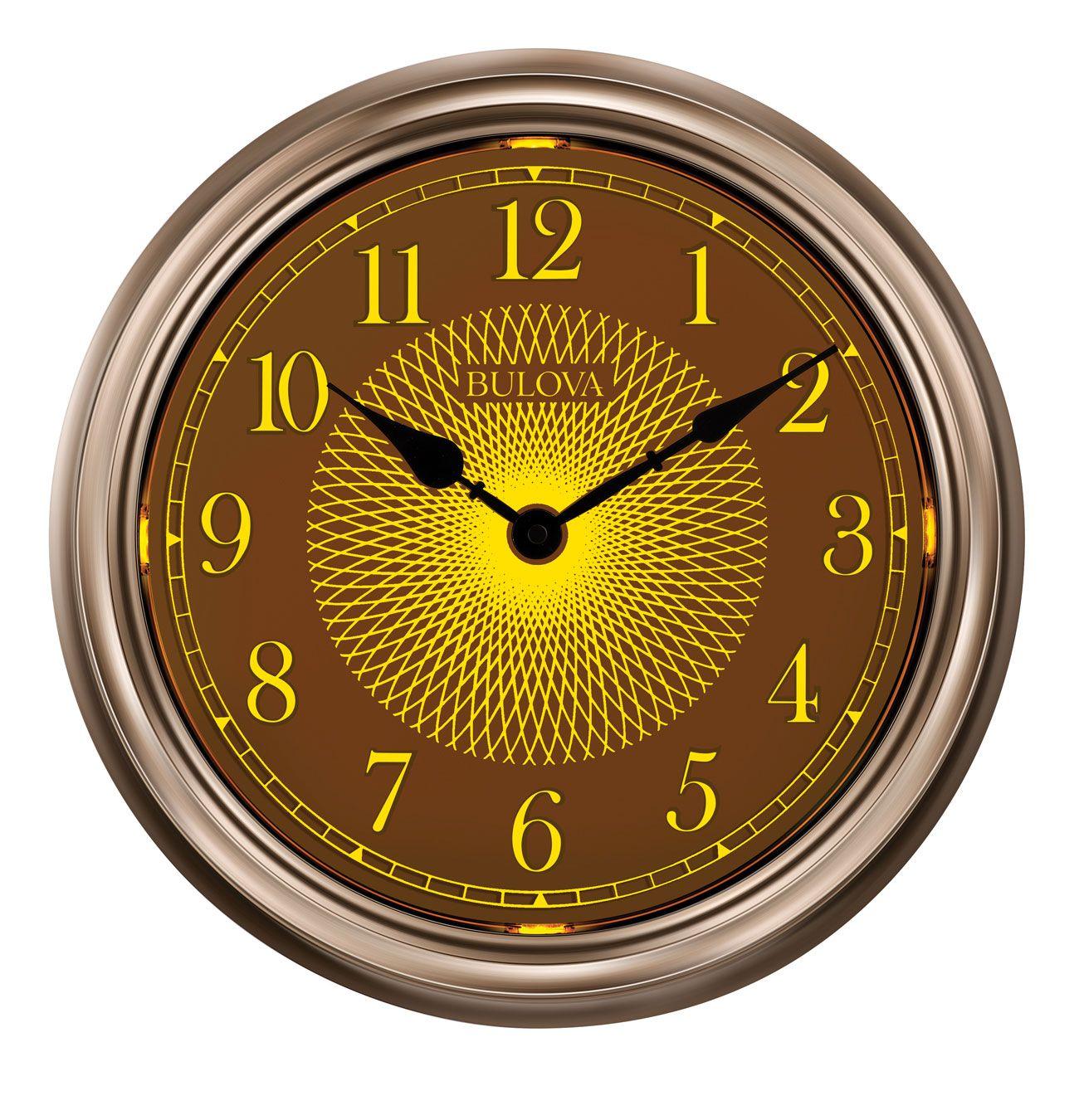 C4826 Light Time By Bulova Clocks Great Ideas Pinterest Bulova