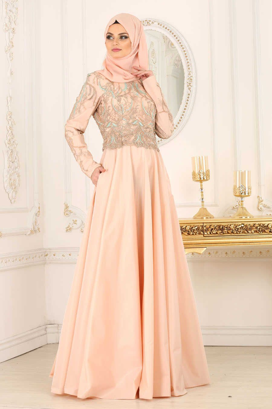 9ca8755d9fc24 Tesettür Giyim 2018 Mezuniyet Elbisesi Modelleri   Abiye & Elbise Modelleri    Dresses, Wedding dresses ve Fashion