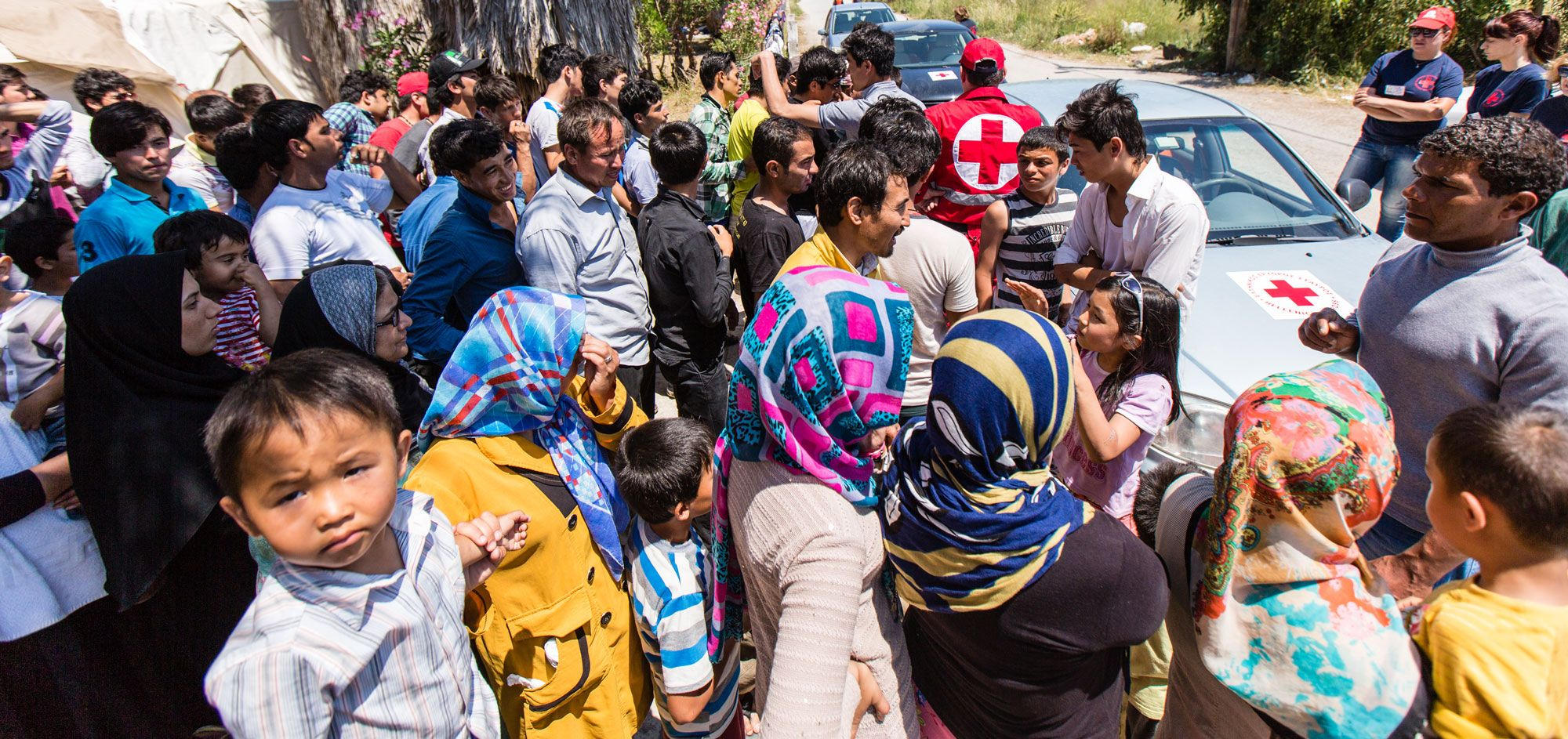 Støt og hjælp flygtningebørn! | Røde Kors