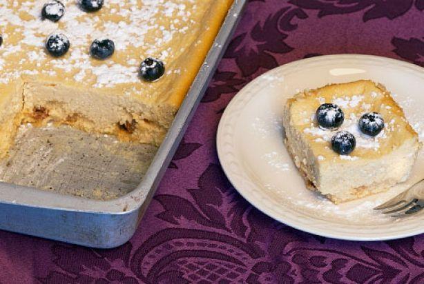 Poolse cheesecake