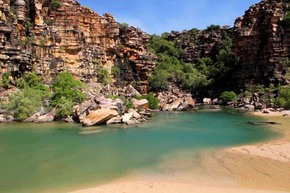 Tranquil Bay in Australia's Kimberley wilderness  #Kimberley #wilderness #Australia
