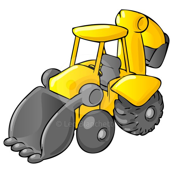 Free Bulldozer Clipart in AI, SVG, EPS or PSD
