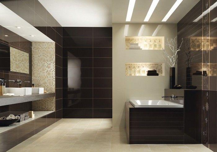 1001 Ideen Und Inspirationen Fur Moderne Badezimmer Bathroom Tile Designs Small Space Bathroom Toilet Design