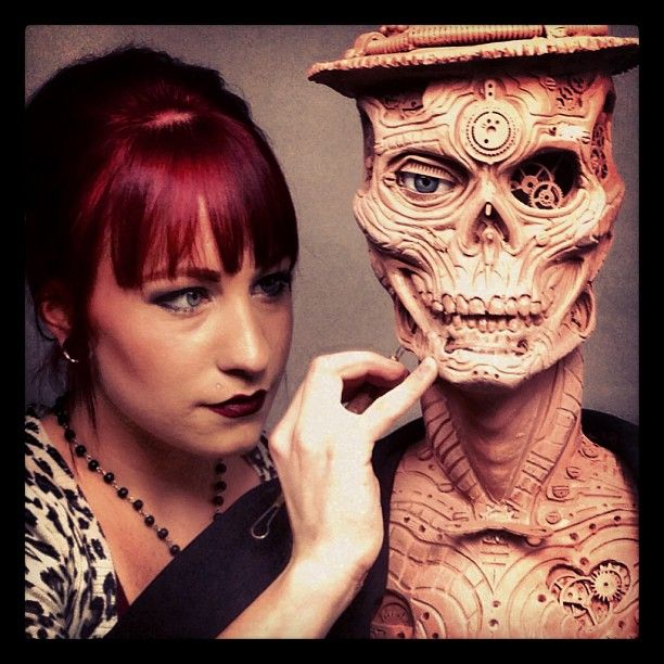 Artist, Chloe Sens Special FX Make up. | Chloe Sens~My friend ...