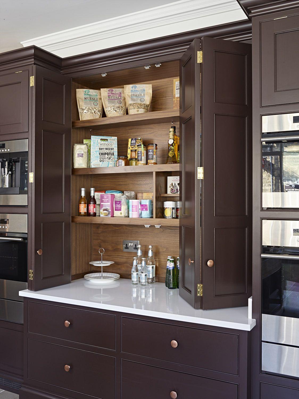 House Hideaway Cabinet Larder Cabinet In Our Ilkley Showroom