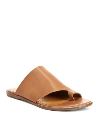 dadd08db5f Vince Women's Edris Leather Slide Sandals   Bloomingdale's   shoes in 2018    Pinterest   Slide sandals, Sandals and Shoes