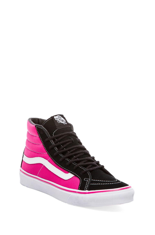 Vans Sk8-Hi Slim Sneaker in Black