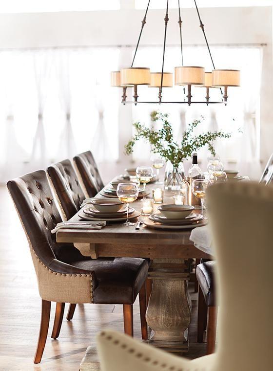 Antique Walnut Aldridge Extendable Dining Table From Home Decorators