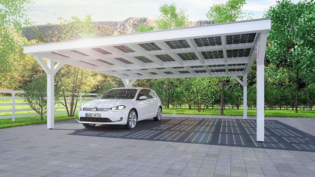 Wonderful Solar Energy · Das #Solarcarport Bietet Nicht Nur Ihrem Fahrzeug Schutz  Sondern Liefert Für Haus Firma Und E