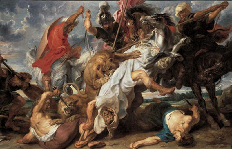 Lion Hunt (1621)