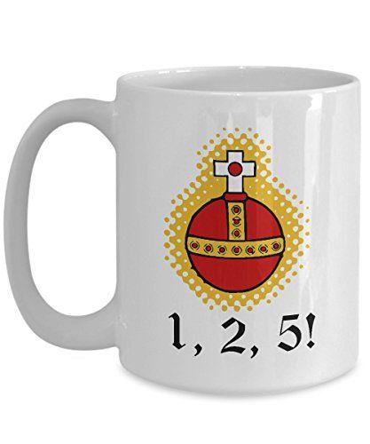 Monty Python Coffee Mug Holy Grail Holy Hand Grenade Https Www Dp B01mu0dmhs Ref Cm Sw R Pi Dp X Gofxybyn868 Hand Grenade Mugs Coffee Mugs