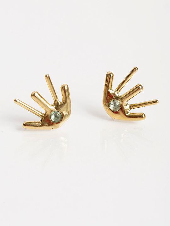 LAB by Laura Busony Purkinje Earrings. Shop ARO.