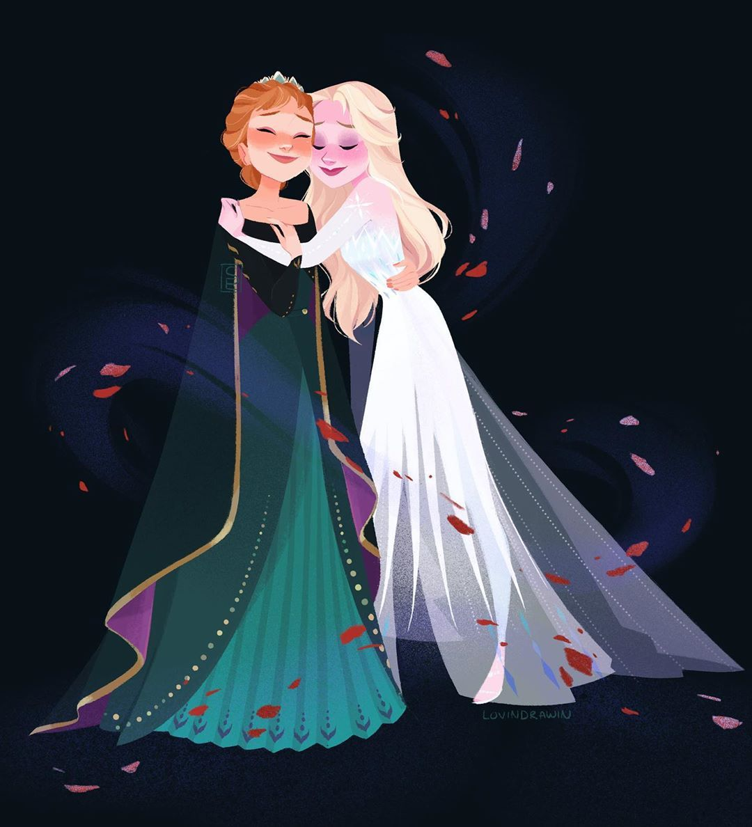 17 4k Likes 91 Comments Emma Lovindrawin On Instagram Some Things Never Change Frozenfanart Frozen Disney Movie Disney Cartoons Disney Frozen