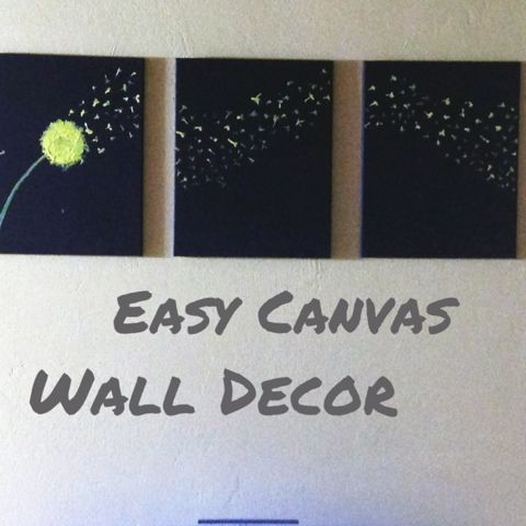 yuen yarn diy dandelion wall decoration for the living room from rh pinterest com Wood Wall Decorations for Living Room Simple Decorations for a Living Room Wall