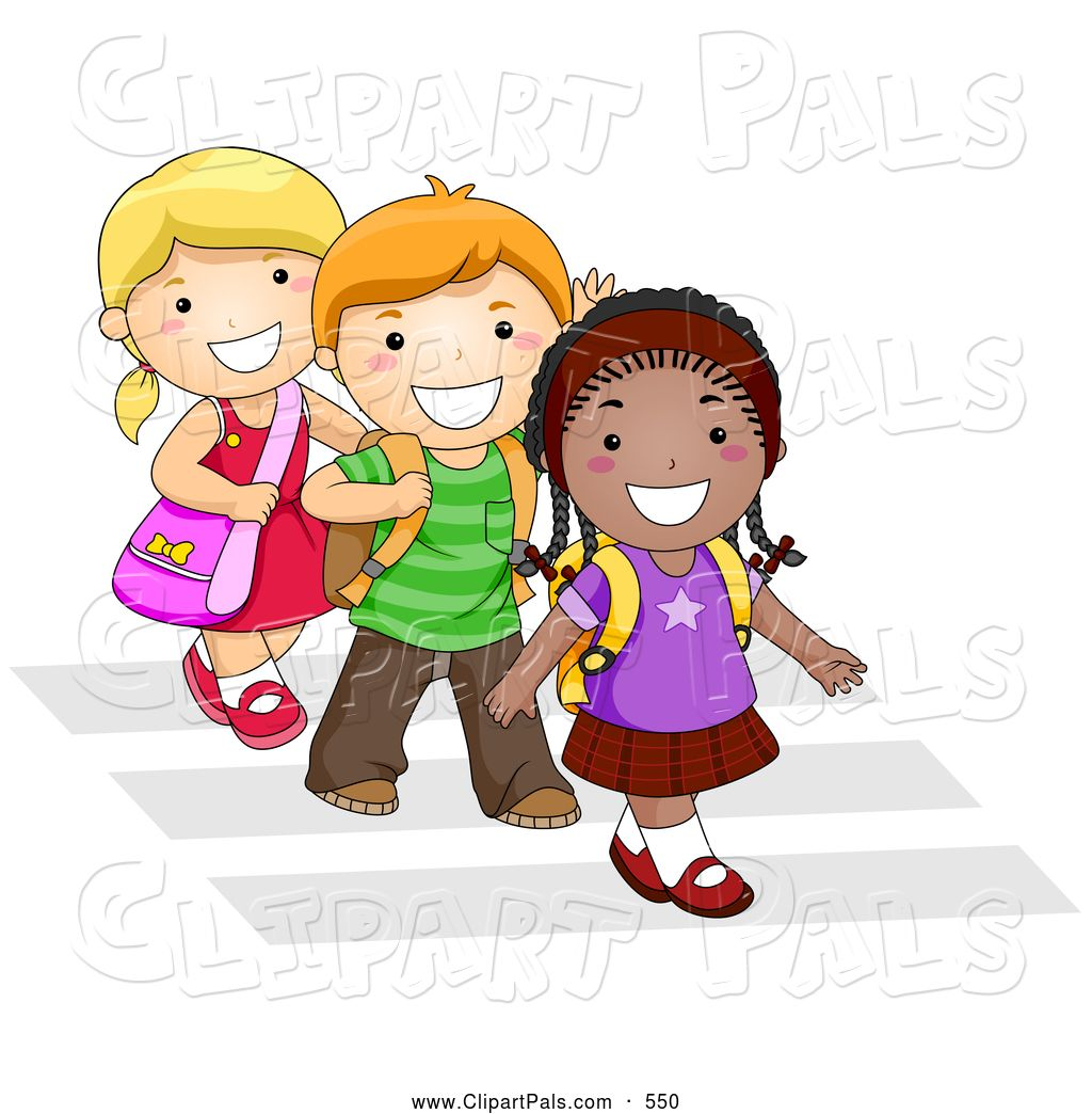 Children-walking-clipart-8.jpg (1024×1044)
