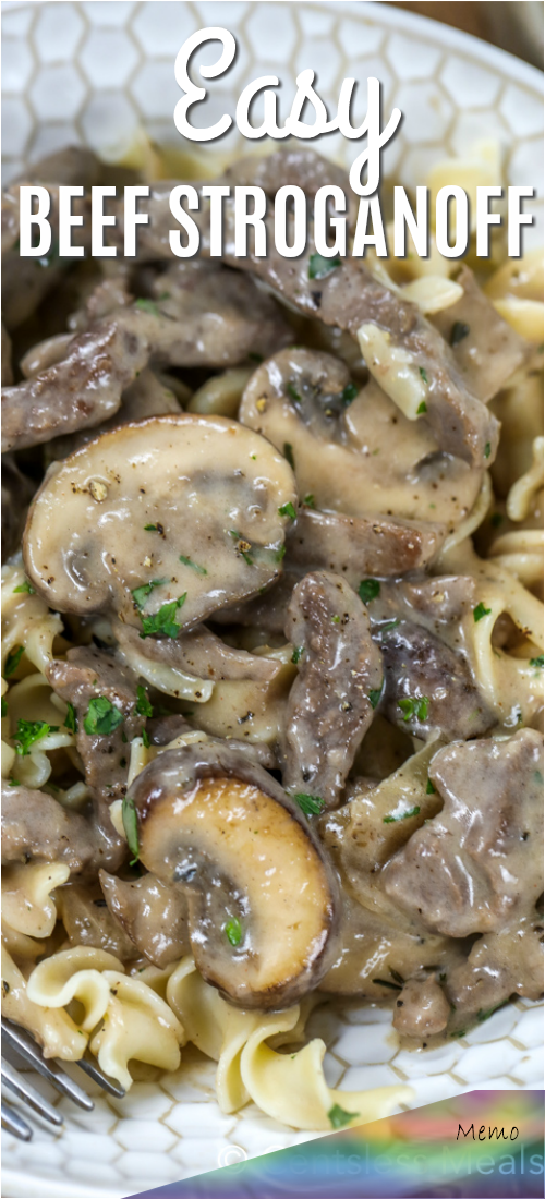 Jun 30 2019 A Creamy Beef Stroganoff Recipe Is A Household Staple This Easy Recipe Is In 2020 Creamy Beef Stroganoff Recipe Stroganoff Recipe Beef Stroganoff Easy