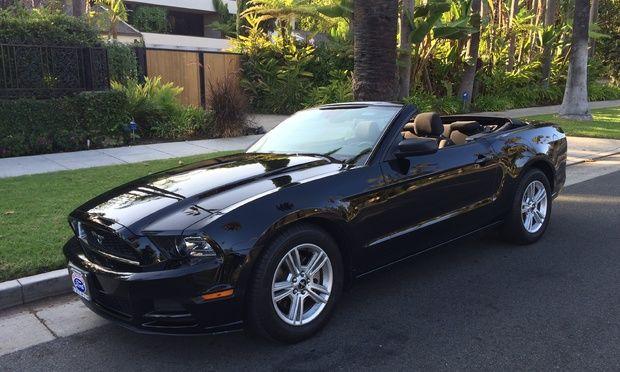 Los Angeles Ca Convertible Mustang Car Rental Turo Spring 2015