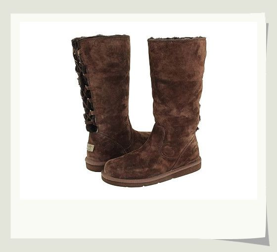 UGG Roseberry 5734 Chocolate Boots For Women