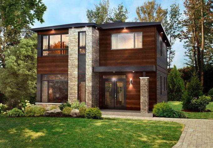 Mod le magnifika maison contemporaine et moderne pro fab constructeur de maisons modulaires for Maison modulaire contemporaine