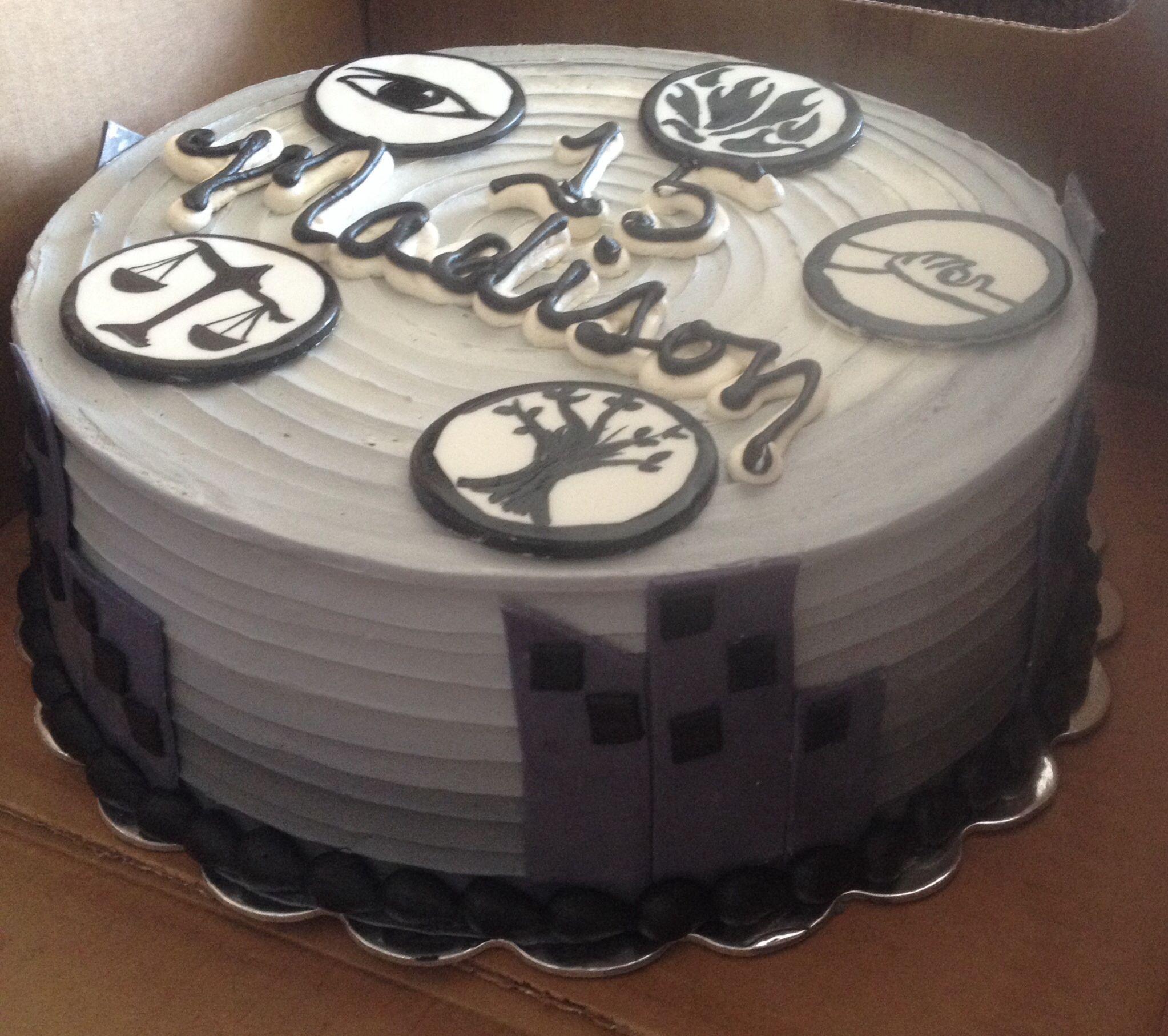 Divergent Cake Divergent Fan Madison Bleu Pinterest Divergent