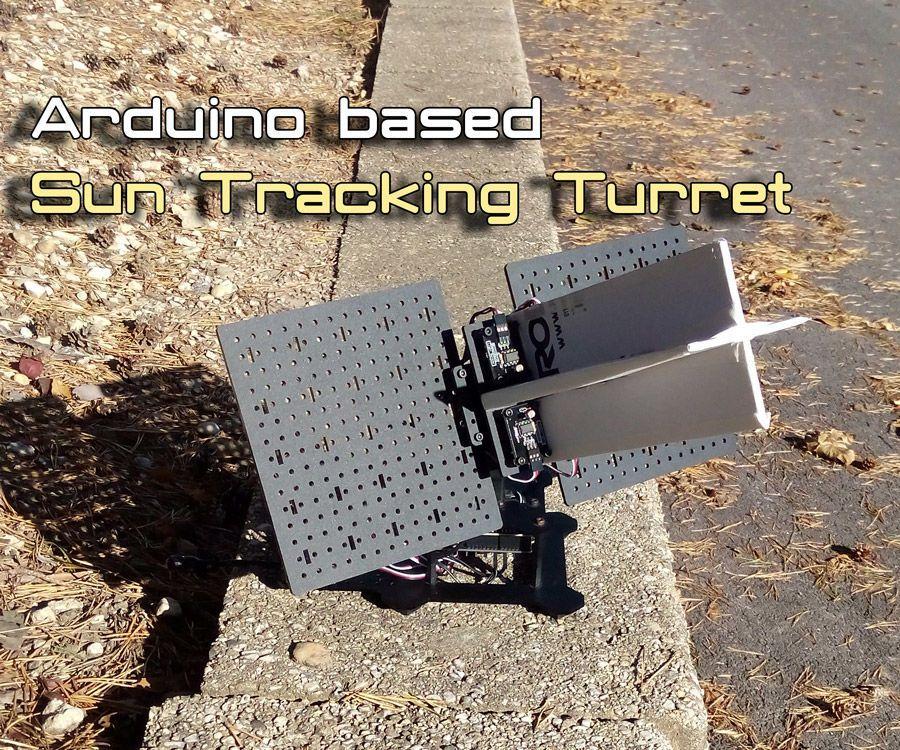 Arduino Sun Tracker Turret Solar Projects Solar Energy System