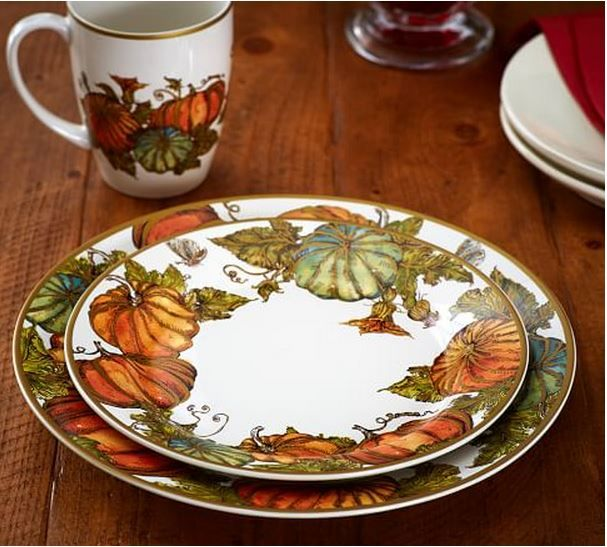 & What Iu0027m Loving For Fall u0026 Halloween | Pottery Barn and Dinnerware