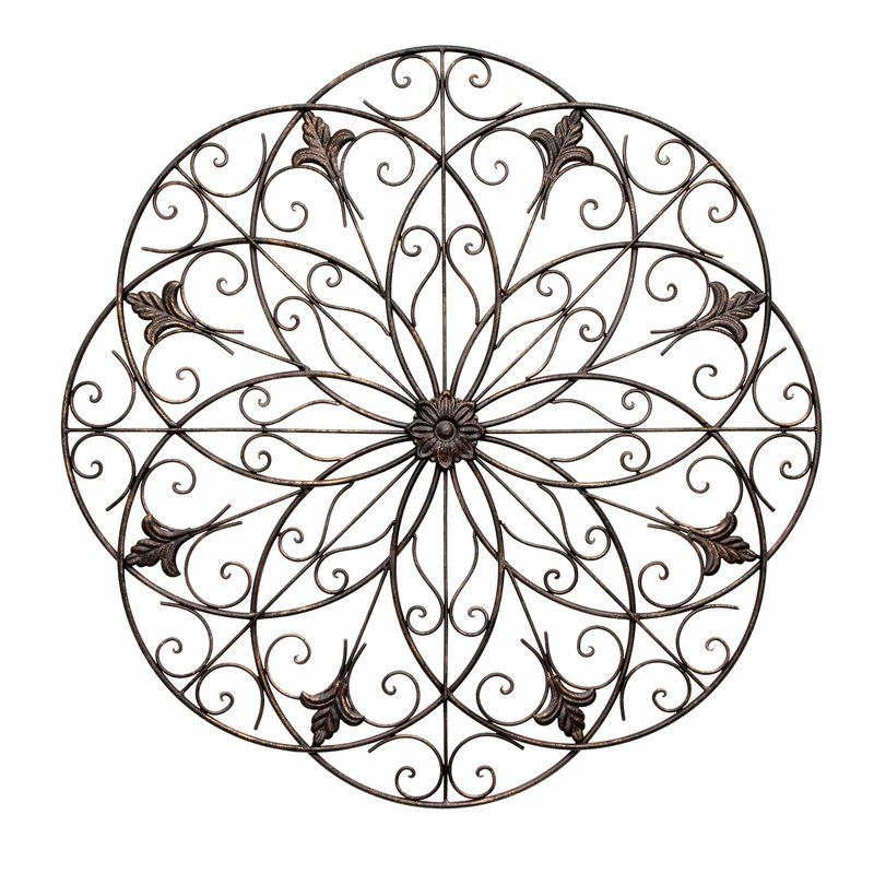 Wrought Iron Floral Wall Decor Floral Wall Floral Wall Art