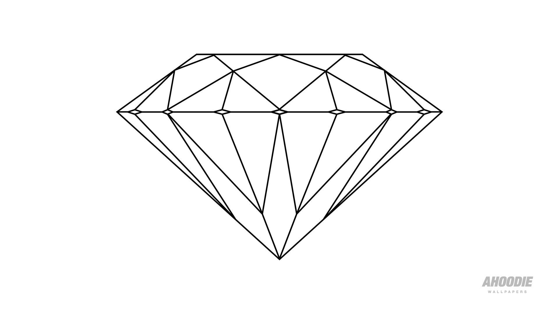 Future Tat Diamond Tattoos Diamond Drawing Shape Coloring Pages