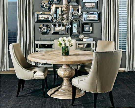 magnolia round dining table | round dining, magnolias and tables