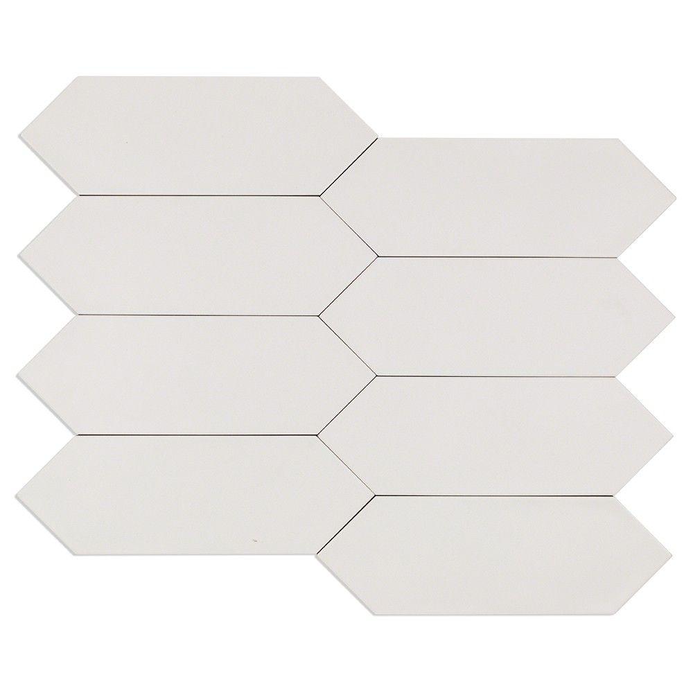 Aliante White 4x12 Porcelain Tile | Home Sweet Home | Pinterest