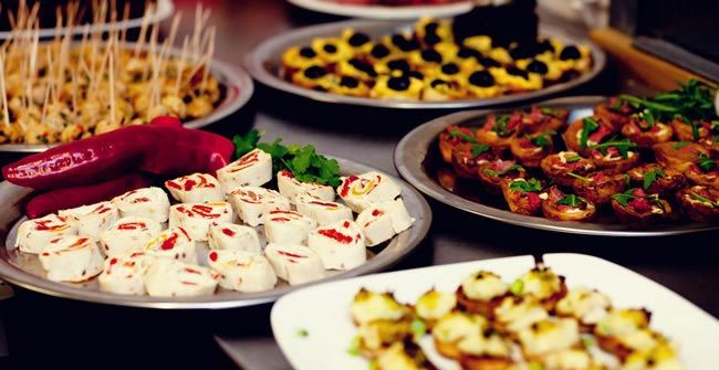 Incredible Design Ideas For Self Confessed Introverts: Wedding Food To Suit Your Chosen Season