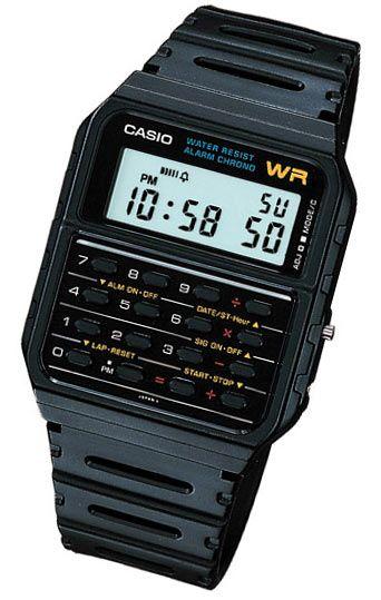 Casio Calculator Watch | Años 80 | Reloj calculadora, Reloj
