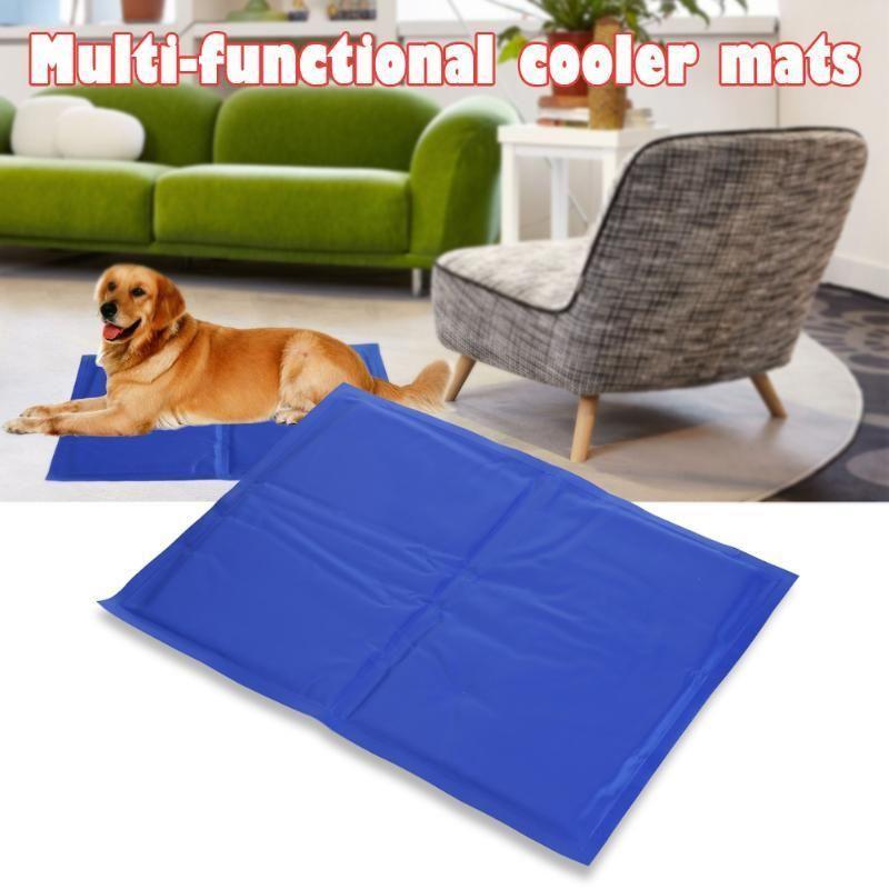 Pet Dog Cat Cooling Mats Soft Ice Pad Pet Cooling Mat Summer Puppy