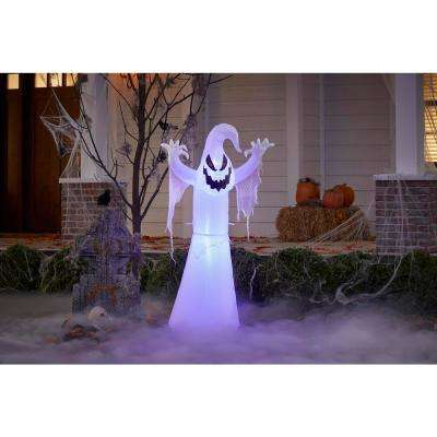 5 Ft Ghoul Ghost Halloween Inflatable Halloween Inflatables Halloween Outdoor Decoration Halloween Ghosts
