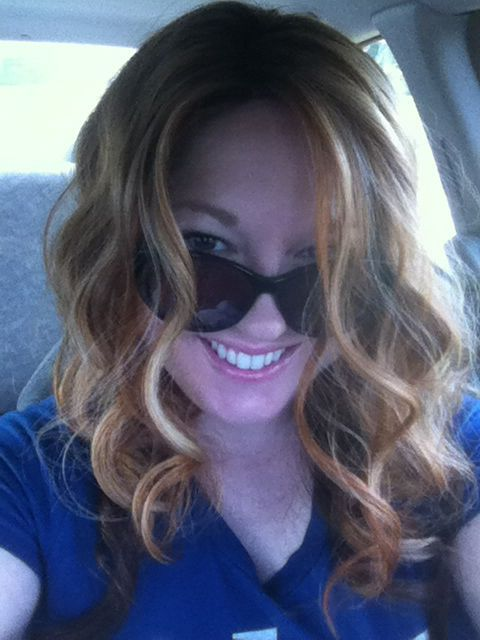 Strawberry Blonde With Various Highlights And Dark Auburn
