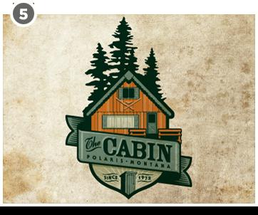 Wonderful Cabin Logo By Jerron Ames