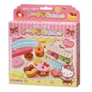 Hello Kitty Clay Donut Making Kit.