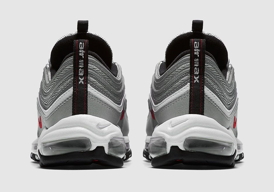 Nike Air Max 97 OG QS 884421 001 Silver | Kicks | Air max 97