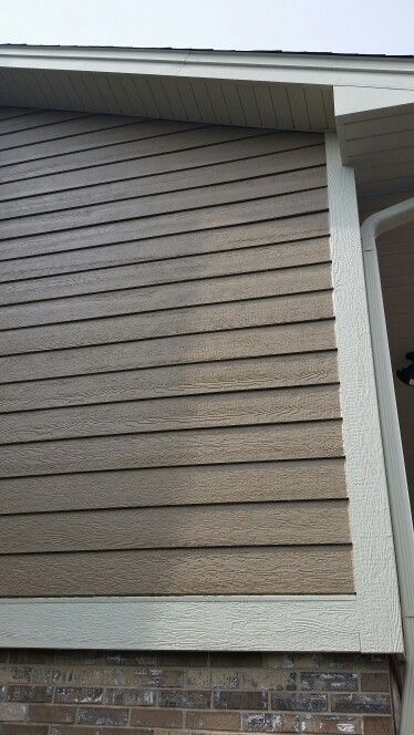 Lp Smartside Lap Siding Color French Gray Trims Almond