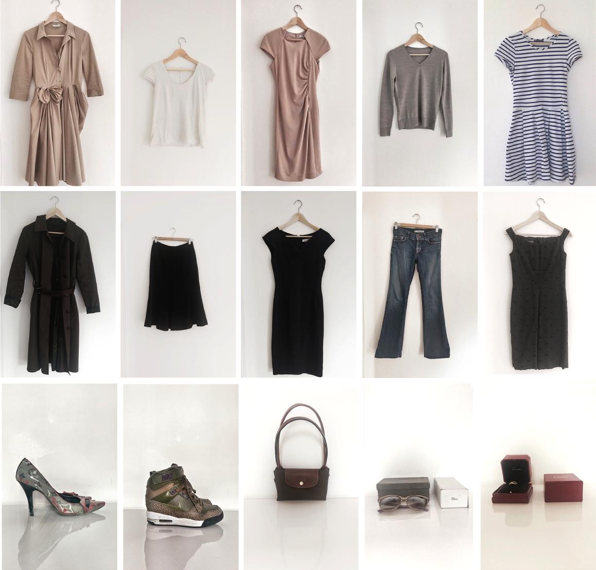 The Benefits Of The 10 Item Wardrobe 10 Piece Wardrobe Minimal Wardrobe And Style