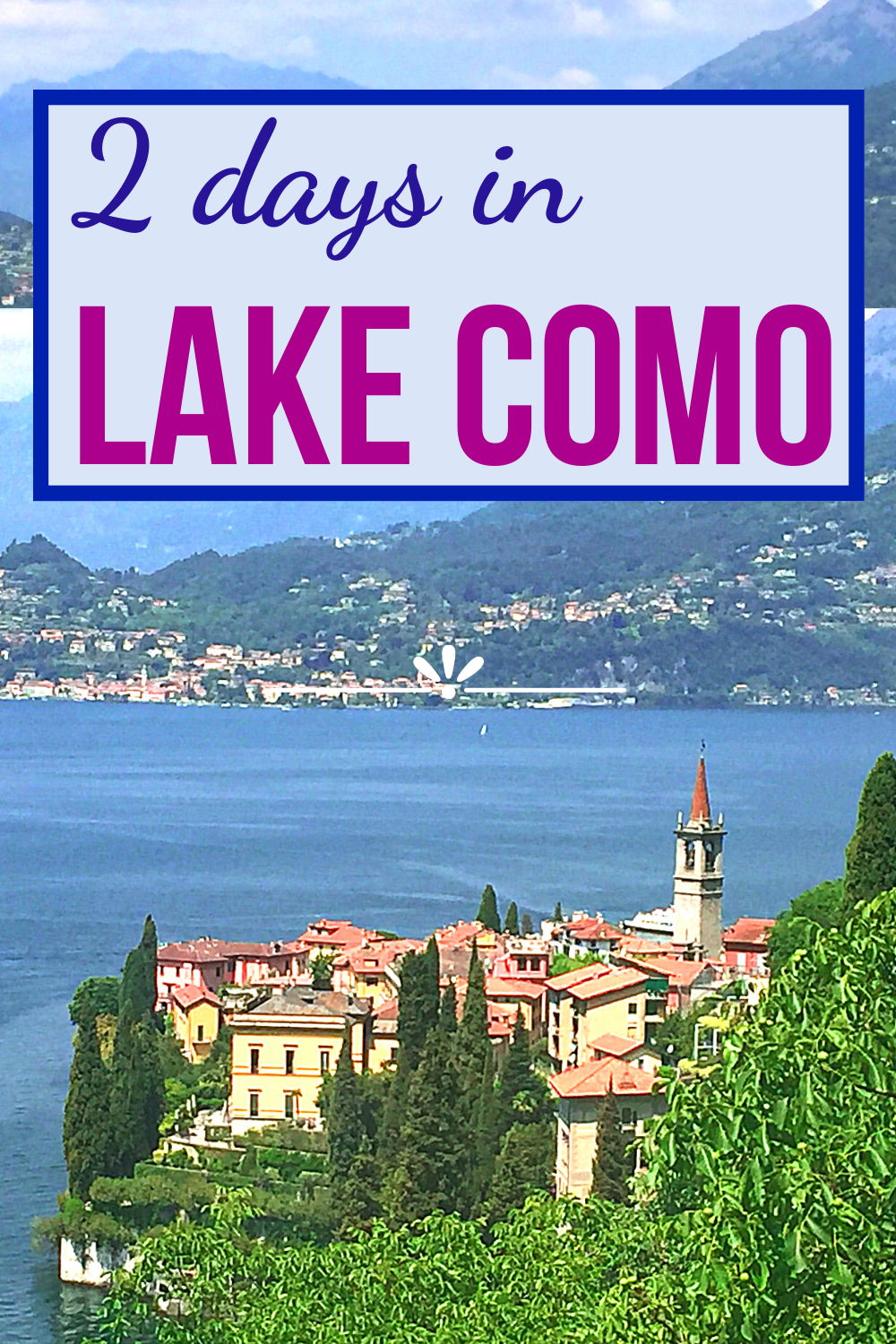 How To Get From Milan To Varenna By Train