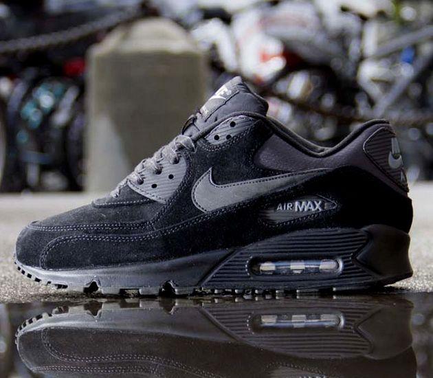 2d2bcfae3c ... Nike Air Max 90 Essential – Black Black – Dark Charcoal – Cool Grey ...