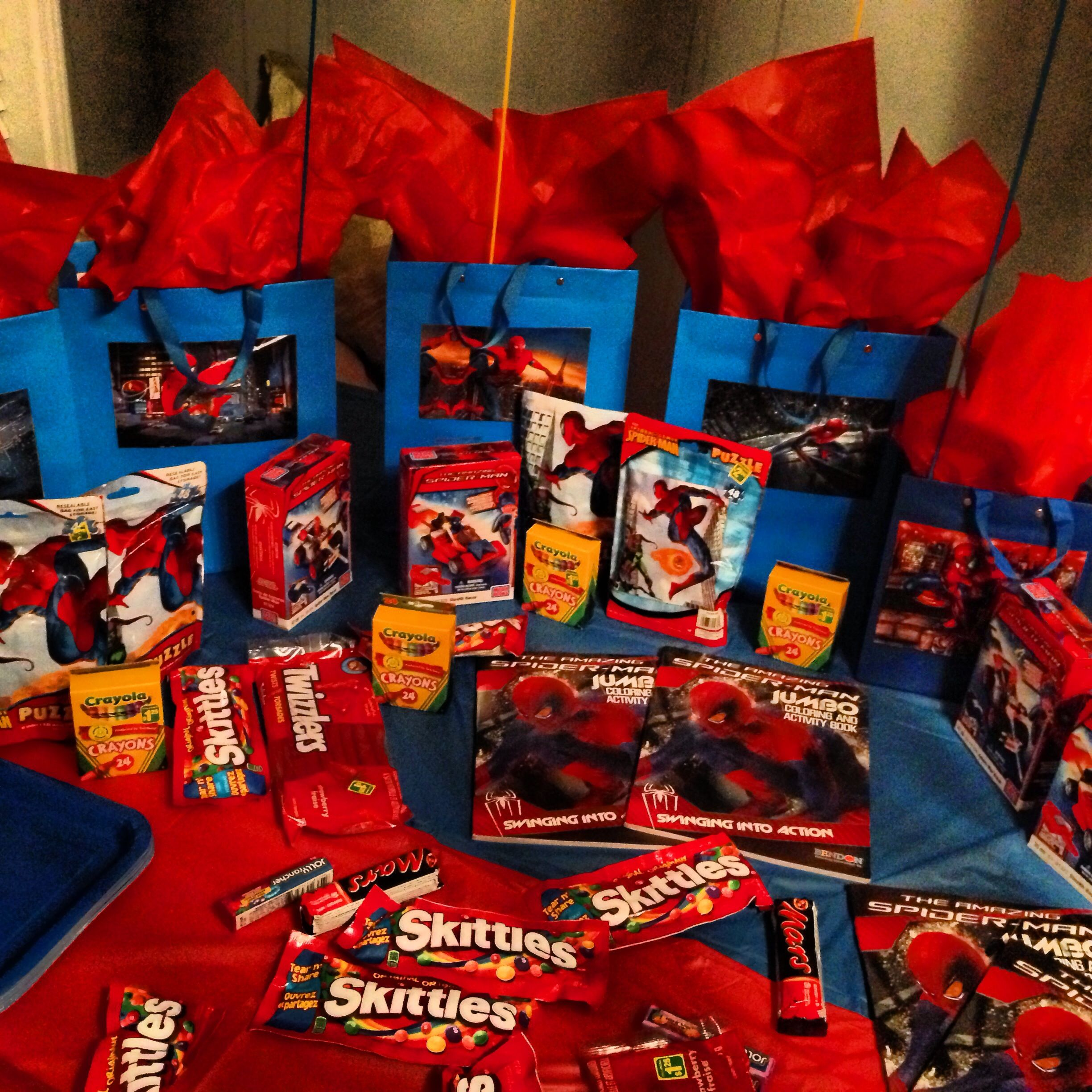 My 3 Year Old Son S Spider Man Theme Party Table